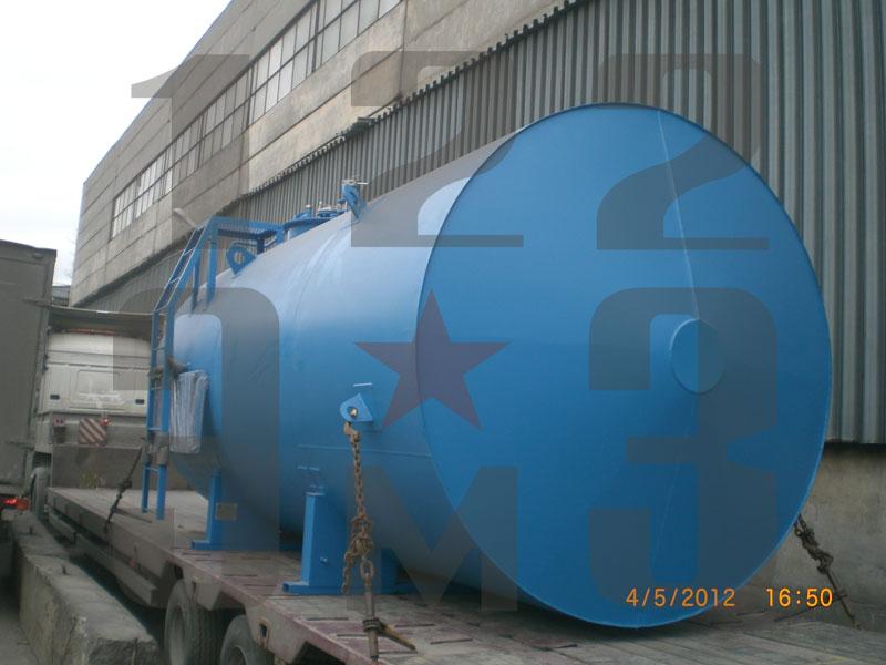 Резервуар для нефтепродуктов двустенный (рис. 2)