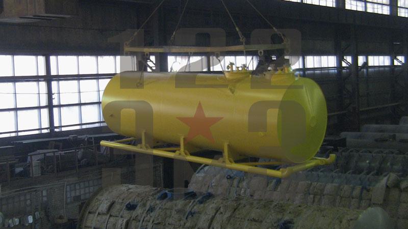Резервуар для ГСМ на санях
