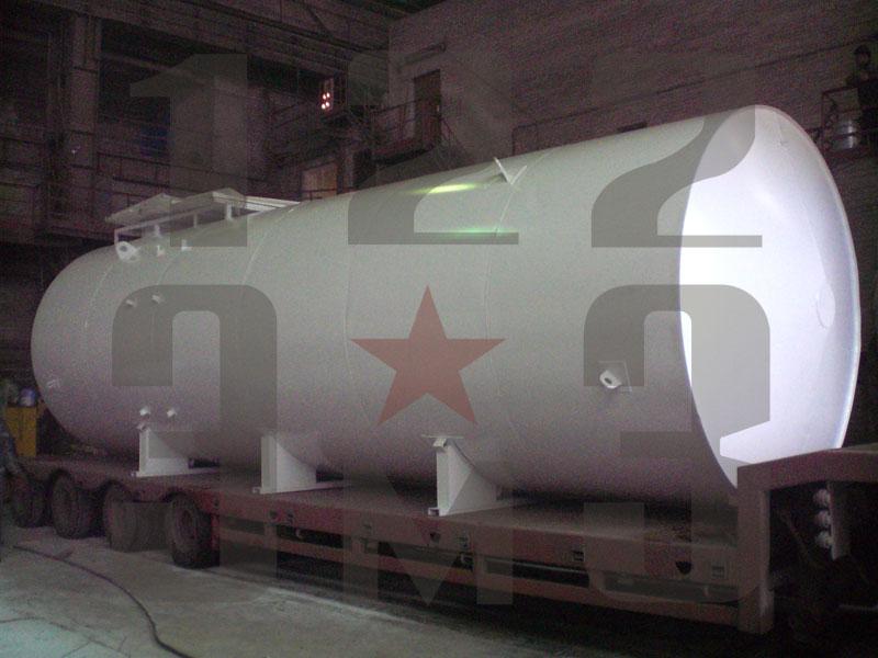 Резервуар для нефтепродуктов двустенный (рис. 1)