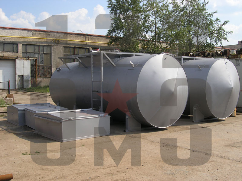 Резервуар для нефтепродуктов одностенный (рис. 1)