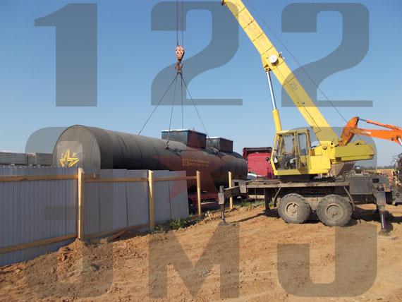 Наш завод изготовил и поставил горизонтальные резервуары